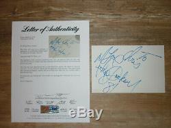 Michael Jackson large vintage autograph signed cut signature PSA/DNA COA