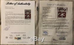 Michael Jordan Signed Autographed Chicago Bulls Jersey COA PSA/DNA & JSA