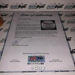 Mickey Mantle Signed Autographed Psa Dna Full Letter Coa Official Al Baseball
