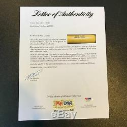 Mickey Mantle Signed Louisville Slugger Game Model Baseball Bat PSA DNA COA