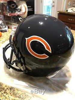 Mike Ditka Autographed Chicago Bears Riddell Full Size Helmet PSA/DNA COA HOF