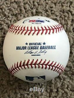 Mike Trout Autographed Signed MLB Baseball PSA/DNA COA Rookie Signature RARE