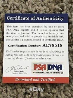 Mike Trout Autographed Signed MLB Baseball PSA/DNA COA Rookie Signature RARE