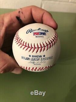 Mike Trout Signed Baseball Sweet Spot PSA/DNA COA