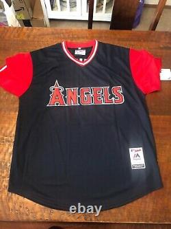 Mike Trout Signed Players Weekend Jersey PSA DNA Coa Autographed Angels Kiiiiid