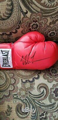 Mike Tyson Signed Everlast Boxing Glove Autographed AUTO PSA/DNA COA HOF
