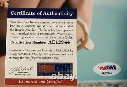 Miley Cyrus Signed 11x14 Rolling Stone Photo PSA/DNA COA #AE12944 Auto