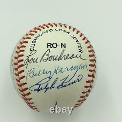 Nice Tony Gwynn Reggie Jackson Hall Of Fame Signed Baseball 16 Sigs PSA DNA COA