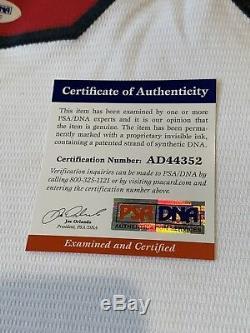 Nolan Ryan Autographed/Signed Jersey PSA/DNA COA Anaheim Angels Los Angeles LA