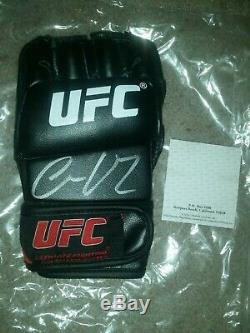 Notorious Conor McGregor Autographed UFC Signed Glove PSA DNA COA