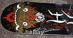 Nyjah Huston Signed Element Kemono 8.0 Skateboard Deck PSA/DNA COA