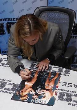 Paige VanZant & Kailin Curran Signed UFC 11x14 Photo PSA/DNA COA Auto'd Picture