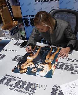 Paige VanZant & Kailin Curran Signed UFC 16x20 Photo PSA/DNA COA Auto'd Picture