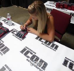 Paige VanZant & Kailin Curran Signed UFC Glove PSA/DNA COA Debut Fight Autograph