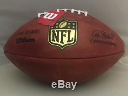 Patrick Mahomes Chiefs Autographed Nfl Game Duke Authentic Football 26435ce66