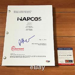 Pedro Pascal Signed Narcos Pilot Episode Script Autograph Psa Dna Coa