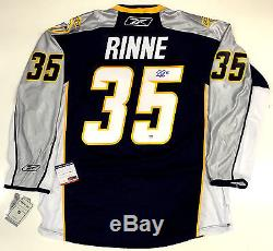 Pekka Rinne Signed Nashville Predators Reebok NHL Premier Jersey Psa/dna Coa New