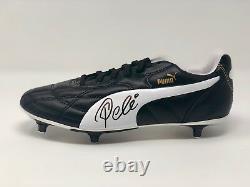 Pele Autographed Puma Soccer Cleat Brazil Signed PSA DNA COA
