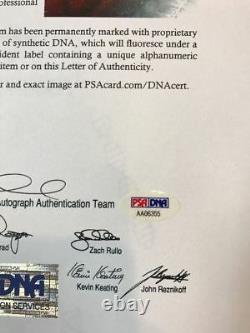 Pistol Pete Maravich Vintage Signed 8 x 10 Magazine Photo PSA DNA COA