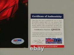 ROBERT DOWNEY JR'IRONMAN' Hand Signed 8'x10' + PSA DNA COA