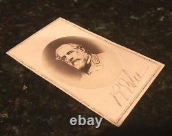 ROBERT E. LEE War Time Uniform AUTOGRAPHED SIGNED CDV PHOTOGRAPH PSA/DNA COA +