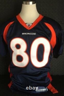 ROD SMITH Denver Broncos Signed Authentic Game Jersey Autographed PSA/DNA COA