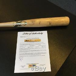 Rare 2003 Albert Pujols Game Used X Baseball Bat PSA DNA COA St Louis Cardinals
