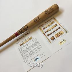 Rare Mark McGwire 1999 Signed Game Used Baseball Bat PSA DNA COA Heavy Use