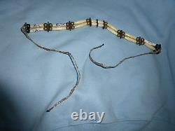 Raven Signed Ring Worn Used Choker Necklace PSA/DNA COA Autograph WWE WCW ECW