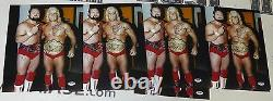 Ric Flair Arn Anderson Signed WWE 11x14 Photo PSA/DNA COA NWA Picture Autograph