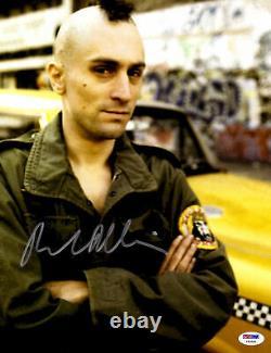 Robert De Niro Autographed 11 x 14 Taxi Driver Photograph PSA DNA COA