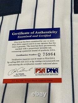 Robinson Cano Autographed/Signed Jersey PSA/DNA COA New York Yankees Future HOF
