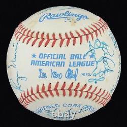 Roger Maris 1983 New York Yankees Old Timers Day Signed Baseball PSA DNA COA