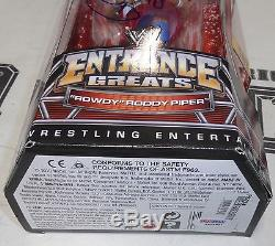 Rowdy Roddy Piper Signed WWE Entrance Greats Action Figure PSA/DNA COA Autograph