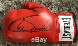 SAUL CANELO ALVAREZ Signed Everlast Boxing Glove Autographed PSA/DNA COA