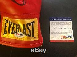 SAUL CANELO ALVAREZ signed Everlast boxing glove Size Small PSA/DNA COA