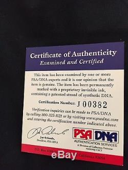 SEAN CONNERY Signed Autograph 8x10 photo PSA/DNA COA Janes Bond Goldfinger RARE