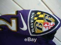 Sale! Ladarius Webb Game Worn Used Baltimore Ravens Jersey Coa Psa/dna Sb Champ