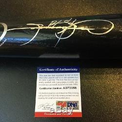 Sammy Sosa Signed Rawlings Game Model Baseball Bat PSA DNA COA