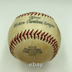 Satchel Paige Single Signed Autographed Baseball With PSA DNA COA