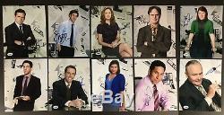 Set of 10 The Office signed 8x10 Photos PSA DNA COA Steve Carell John Krasinski
