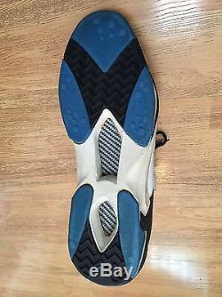 Shaquille O'neal 1992-93 Signed Game Used Rookie Shoe Shaq Psadna Jsa Auto Coa