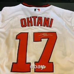 Shohei Ohtani Signed Los Angeles Angels Game Model Jersey PSA DNA COA