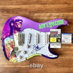 Snoop Dogg Signed Guitar Doggystle PSA/DNA + JSA COA Custom 1/1 Graphics