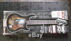Stan Lee Larry Lieber Signed Rare Iron Man Rockmaster Peavey Guitar Psa Dna Coa