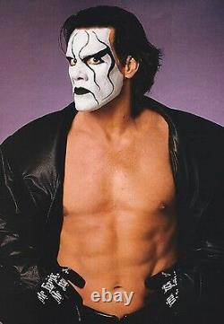 Sting Signed Official Mechanix Ring Glove PSA/DNA COA TNA WWE WCW AEW Autograph