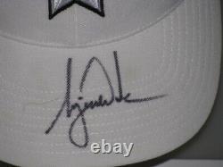 TIGER WOODS Hand Signed Golf Cap Hat + PSA DNA COA BUY Genuine Tiger