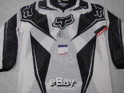 TWITCH JEREMY STENBERG Hand Signed Moto X Jersey + PSA DNA COA S26814