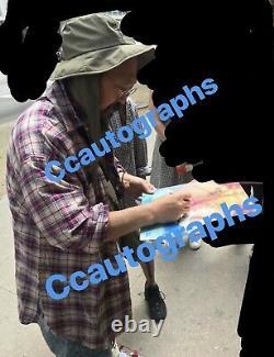 Takashi Murakami and Kanye West Signed Vinyl PSA/DNA COA Kids See Ghosts Sketch