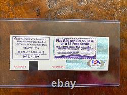 Taylor Swift Kellie Pickler Signed 2007 Concert Ticket Psa/Dna Coa Autographed